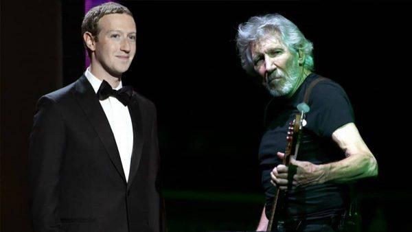 """Roger Waters se pasea al creador de Facebook: """"Ándate a la mier…"""""""