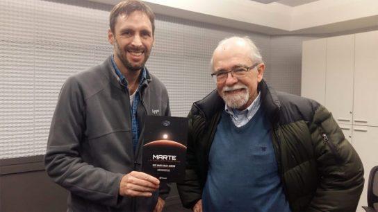 Daniel Matamala entrevista a José Maza sobre su libro: ?Marte, La próxima frontera?