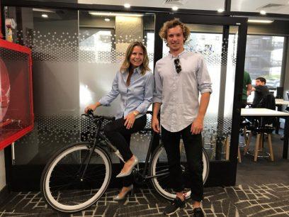 Andrés Roi, co-fundador y Gerente de Marketing y diseño de Yerka Bikes