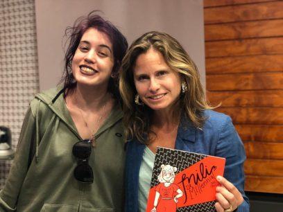 "Nati Chuleta, autora de ""Mili, la millenial"""