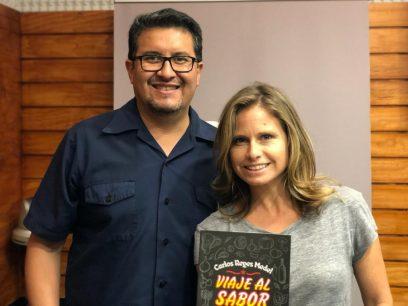 Carlos Reyes, autor de ?Viaje al sabor 2? y crítico gastronómico