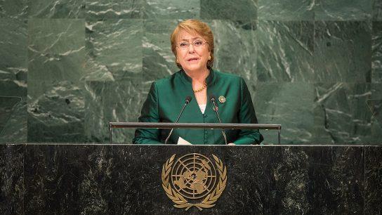 Estados Unidos habría intentado impedir nombramiento de Bachelet como Alta Comisionada de la ONU