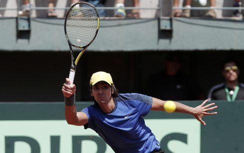 Copa Davis: Julio Peralta sufre lesión y es baja en Chile