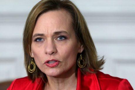 "Senadora Goic reitera su rechazo al cuarto retiro: ""Espero que no pase de la Cámara"""
