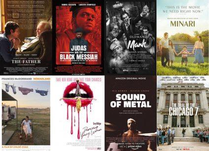 Oscars 2021: El ranking definitivo de las cintas nominadas a 'Mejor Película'