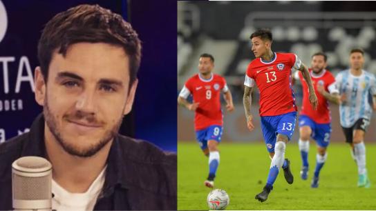 """Gonzalo Fouillioux tras empate con Argentina: """"Pulgar fue el mejor futbolista que tuvo Chile"""""""
