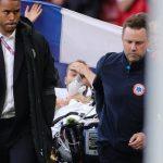 Christian Eriksen se encuentra despierto y estable tras desmayarse en plena Eurocopa