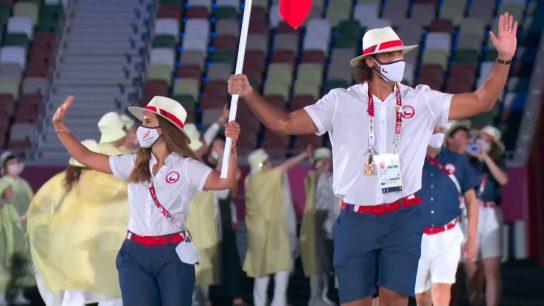 Juegos Olímpicos: Así fue el paso de Chile por la inauguración de Tokio 2020