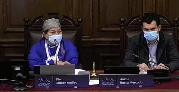 Elisa Loncon respondió a dichos de Marinovic con discurso en la Convención llamando al amor y la tolerancia