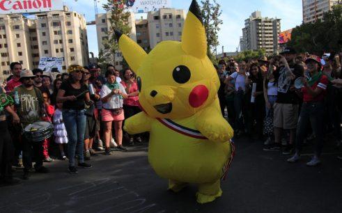 """La 'Tía Pikachu' desde la Convención: """"No vamos a empezar nada mientras repriman a nuestra gente"""""""