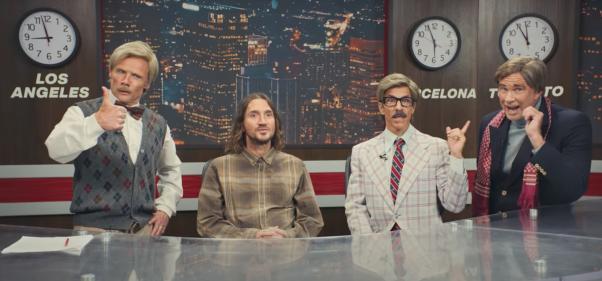 Red Hot Chili Peppers anunció de esta notable forma su gira mundial con John Frusciante