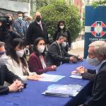 """Izkia Siches se reunió con José Antonio Kast y rescató que su programa """"pone en el centro a los pacientes"""""""