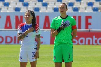 ¡Secas! Tiane Endler y Carla Guerrero en el equipo femenino sudamericano ideal de la década