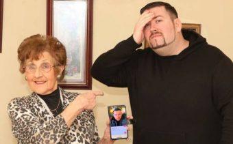 """¡Qué plancha! Abuela le crea perfil de Tinder a nieto """"vago"""" y """"cocinero inútil"""""""