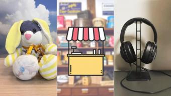 Kioskito Romántica: ¡Peluches, artículos de audio y más! Cierra la semana con estos emprendimientos