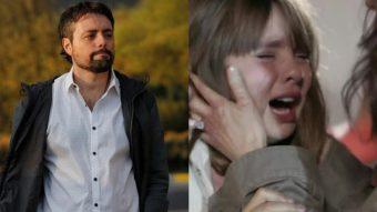 """¡Seca! Daniel Valenzuela agradeció el cariño y admiración recibido por la actuación de su hija en """"Demente"""""""