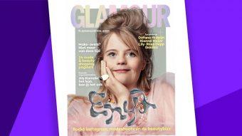 Influencer con síndrome de Down rompe barreras saliendo en la portada de una revista