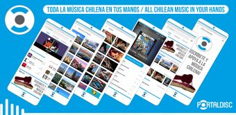 """""""Portal Disc App"""": La nueva aplicación que llega con un catálogo de más de 130 mil canciones chilenas"""