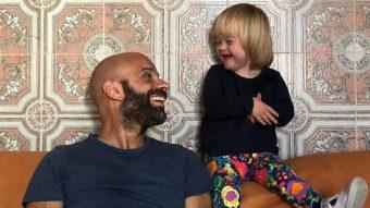 Un ejemplo: La hermosa historia de un italiano que adoptó a una niña con síndrome de Down