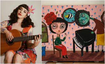 """""""Estoy muy emocionada"""": Mon Laferte expondrá sus pinturas en Londres"""