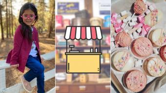 Kioskito Romántica: Tentaciones dulces, ropa infantil y diseños personalizados en la vitrina de martes
