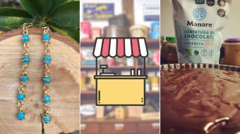 Kioskito Romántica: Joyas artesanales, máquinas deportivas y productos orgánicos en nuestra vitrina de viernes
