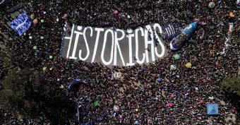 """Movilizaciones y feminismo en Chile: Lanzan libro """"La huelga general feminista ¡Va!"""""""