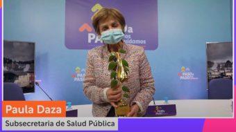 Paula Daza es elegida Reina del Copihue de Oro 2021