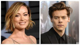 Puro amor: Harry Styles y Olivia Wilde fueron fotografiados en Italia