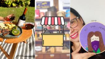 Kioskito Romántica: Mesitas para picnic, bordados y productos ecológicos en la vitrina de hoy