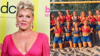 Pura sororidad: Pink se ofrece a pagar sexista multa impuesta contra deportistas noruegas