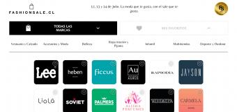 """Este lunes comenzó el Fashion Sale: El """"Cyber"""" de moda, vestuario y belleza"""