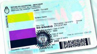 Digno de imitar: Argentina reconoce el género no binario en el carnet de identidad