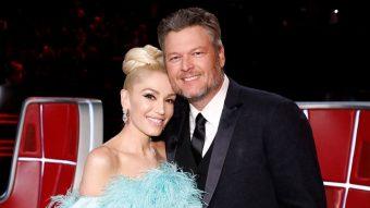Gwen Stefani compartió íntimas imágenes de su matrimonio con Blake Shalton