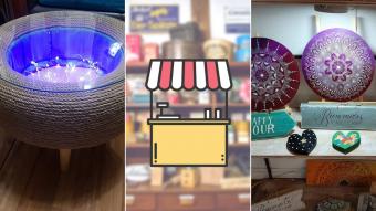 Kioskito Romántica: Productos orgánicos, muebles y decoración en la vitrina de martes