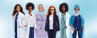 Luchan contra la discriminación y el Covid: Barbie presenta nuevas muñecas inspiradas en mujeres científicas