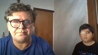 [VIDEO] Papá de Tomiii 11 le dedicó una emotiva canción a su hijo