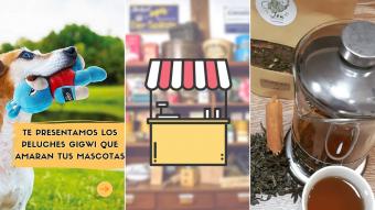 Kioskito Romántica: Tecitos, artículos para mascotas y ropa interior en la vitrina de lunes