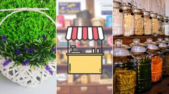 Kioskito Romántica: Arte, decoración y sabores a granel en la vitrina de mitad de semana