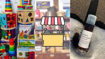 Kioskito Romántica: Cosmética natural, juguetes de madera y estampados en la vitrina de martes