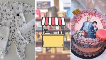 Kioskito Romántica: Pasteles, plantitas y ropas para bebés en la vitrina de jueves