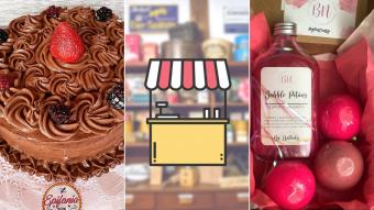 Kioskito Romántica: Repostería sin gluten, manicure y cosmética natural en la vitrina de jueves