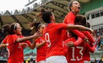 La Roja Femenina ya se está preparando para su enfrentamiento con Colombia